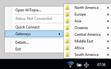 Connecting to a VPN Server